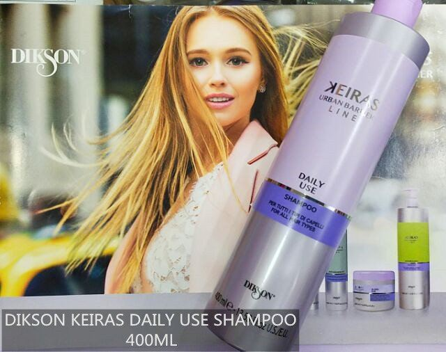 DIKSON KEIRAS DAILY USE SHAMPOO 400ML