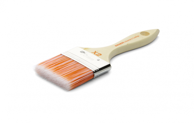 Anza Varnish Brush Flat X2