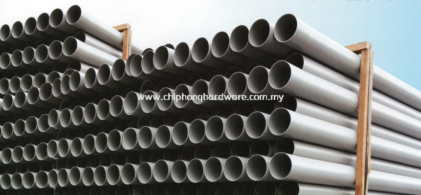 UPVC Pressure Pipes with Solvent Cement Joint & Fittings