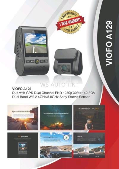 DASH CAM Puchong, Selangor ,VIOFO DASH CAM A129 Duo FHD 1080P Front & Rear Wifi with GPS