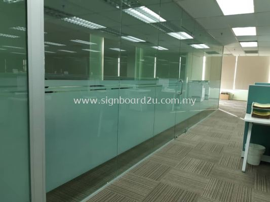 ORIENTAGE GROUP OFFICE FROSTED STICKER AT BANDAR BUKIT TINGGI ,KLANG ,SELANGOR