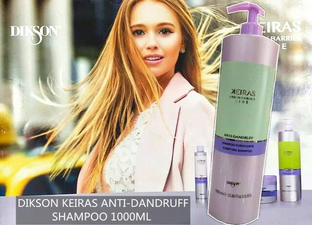 DIKSON KEIRAS URBAN BARBER LINE ANTI-DANDRUFF PURIFYING SHAMPOO 1000ML