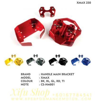 HANDLE MAIN BRACKET ACCESSORIES CNC YAMAHA XMAX250/300