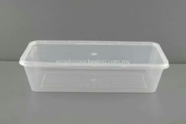 1300L - Rectangle Container with Lid