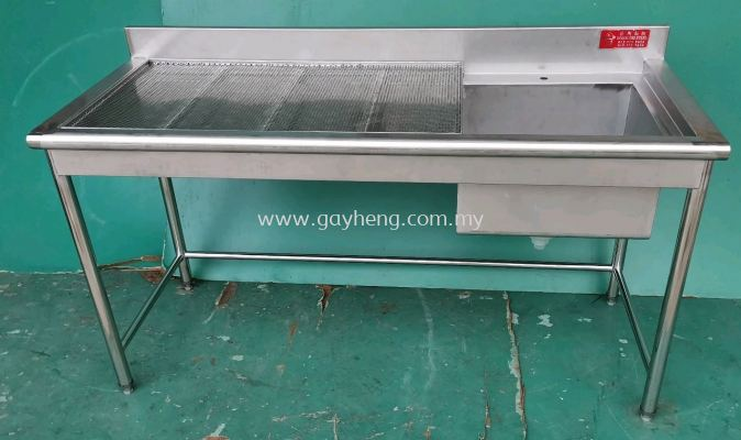 Stainless Steel Sink for bubble tea �׸�ϴ�裨�̲裬���ݲ裩