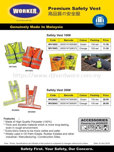 WORKER SAFETY EQUIPMENT