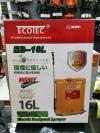 Ecotec 16L Rechargeable Knapsack Sprayer/Battery Pump/Pam Racun Bateri EB-16L Agriculture Machine
