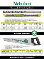 BAHCO BRAND PRODUCTS
