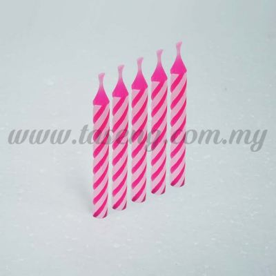Big Candle -Pink 1box *400pcs (CDL-S02)