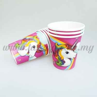 Paper Cup Unicorn 10pcs (P-PC-UN)
