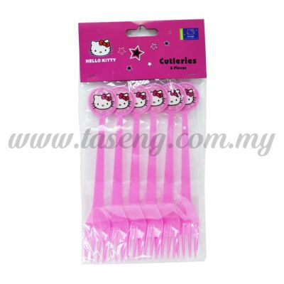 Fork Hello Kitty 1pack *6pcs (P-PF-01)