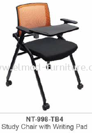 NT-998-TB4 STUDY CHAIR WITH WRITING PAD
