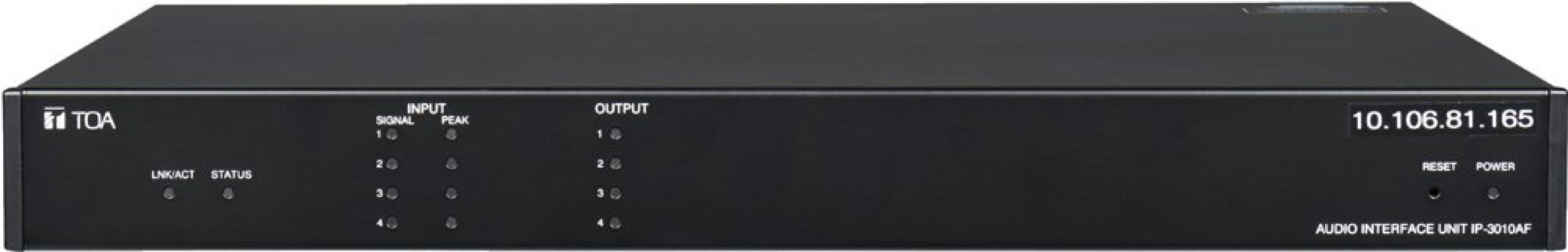 IP-3010AF. TOA Audio Interface Unit. #AIASIA Connect