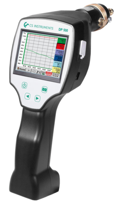 DP 500 - PORTABLE DEW POINT METER WITH INTEGRATED DATA LOGGER