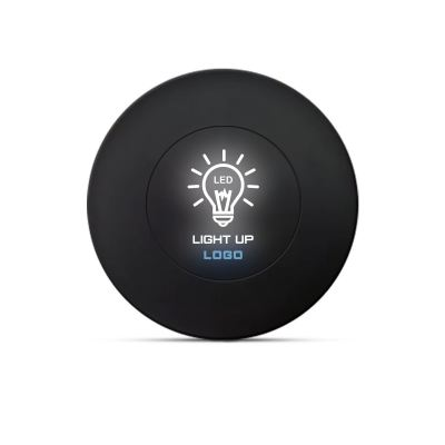 WLC681 AIRDISK - LED LIGHT UP LOGO - 10W FAST CHARGING - WIRELESS CHARGER