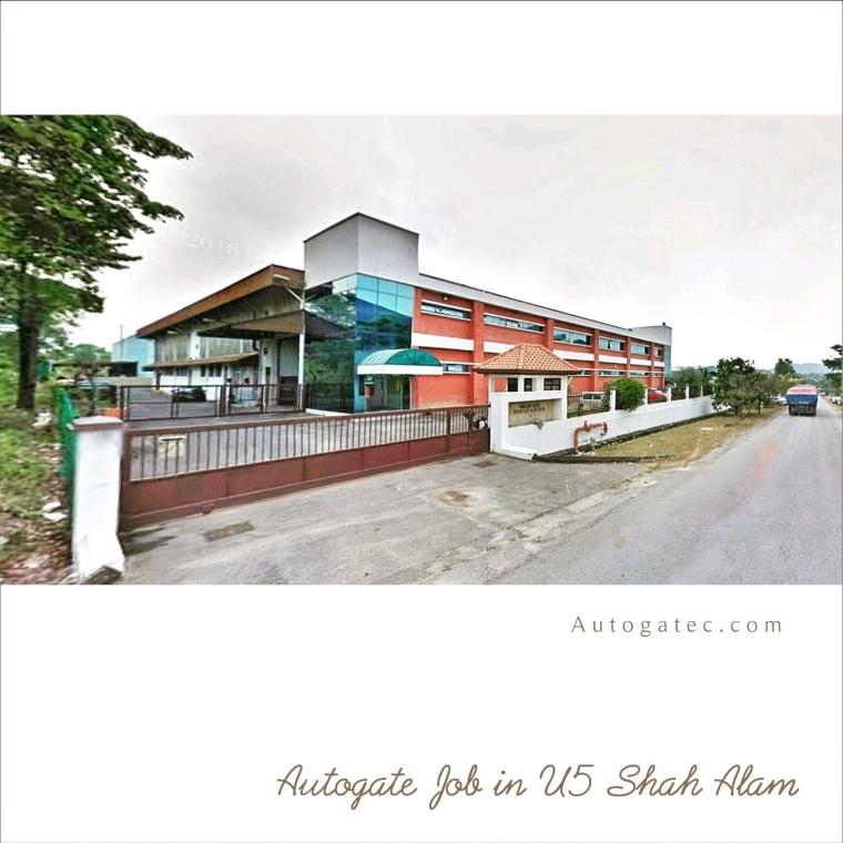 Autogate in U5 Shah Alam