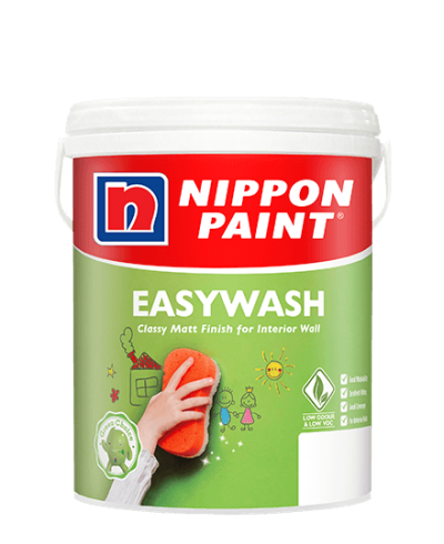 Nippon Easy Wash 18 LITER ( Classic Neutrals & Greys Series  )