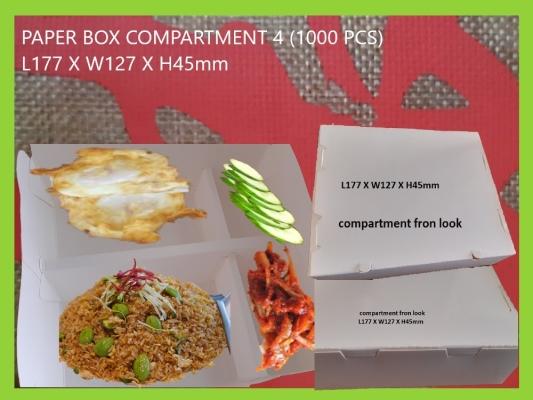 PAPER BOX COMPARTMENT-4 (1000 PCS)