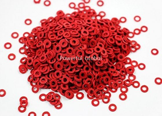 Washers Silicone Red Rubber