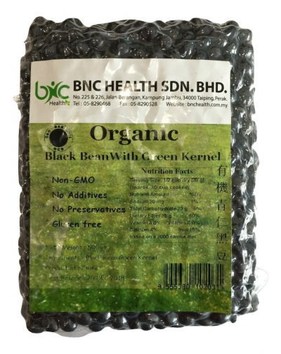 Organic Black Bean With Green Kernel �л����ʺڶ�