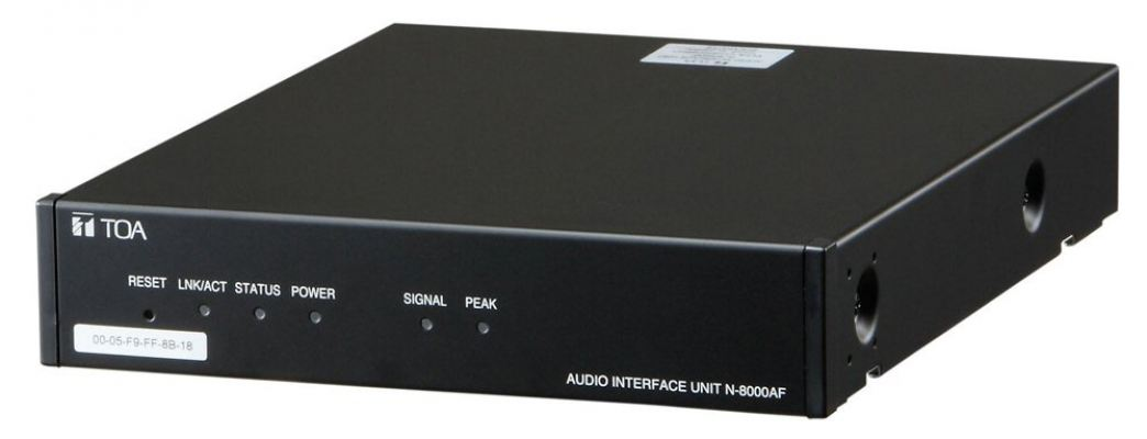 N-8000AF. TOA Audio Interface Unit. #AIASIA Connect