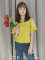 31013 EMBROIDERED SLEEVE BLOUSE 【1st 10% 2nd 20% 3rd 30%】