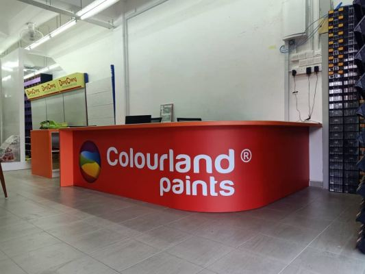 Indoor Counter Cabinet @ Nilai One Stop Hardware