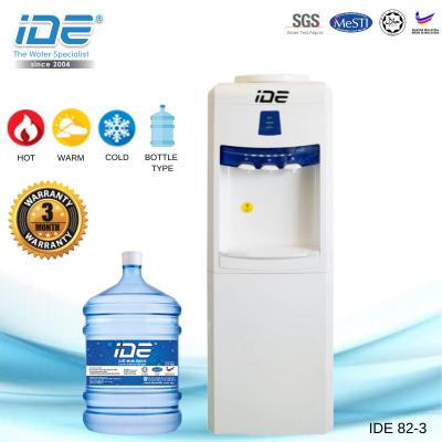 IDE 82-3 瓶装式饮水机 (热&温&冷)