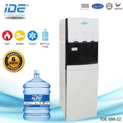 IDE 688-22 瓶装式饮水机 (热&温&冷)