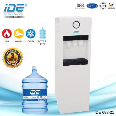 IDE 688-21 Bottle Type Dispenser (Hot&Warm&Cold)