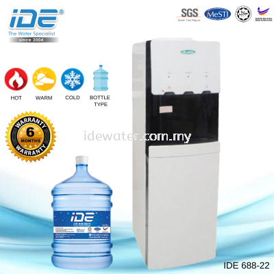 IDE 688-22 Bottle Type Dispenser (Hot&Warm&Cool)
