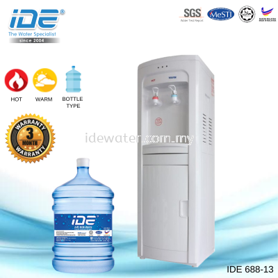 IDE 688-13 Bottle Type Dispenser (Hot&Normal)