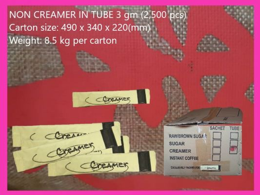 TUBE PACKING NON DAILY CREAMER 3g (2500 PCS)