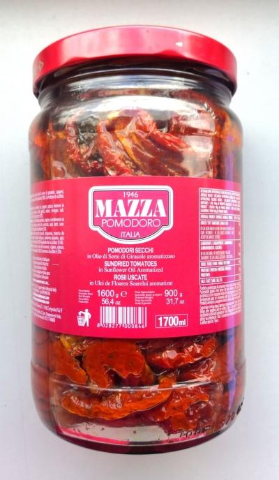 Sun-dried Tomatoes in Sunflower Oil - Jar