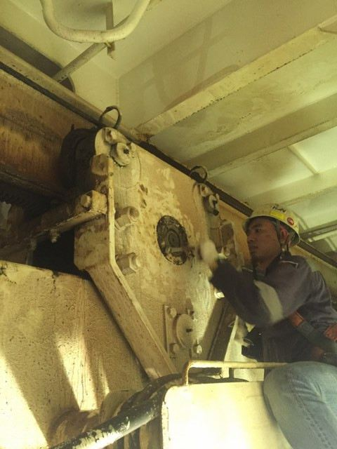 Monorail Gear Tooth Renewal Work MECHANICAL WORKS