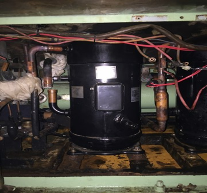 CCR Aft Package Air Cond Repair Work AIR CONDITIONING SERVICE & REPAIRS