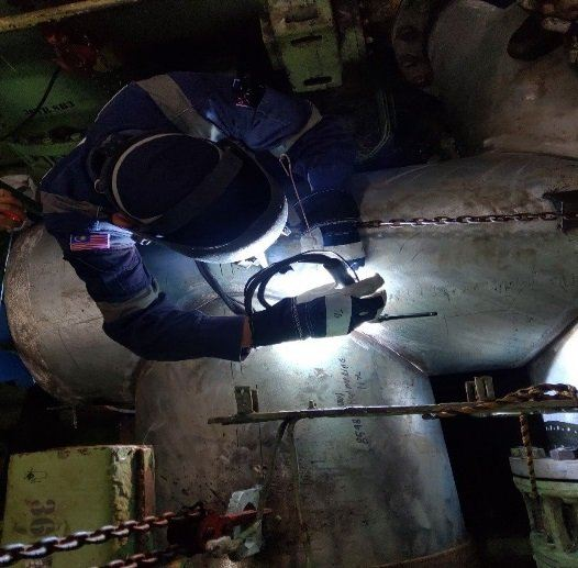 Hydrophore Tank Inlet Pipe Renewal Work STEEL STRUCTURAL & PIPING FABRICATIONS