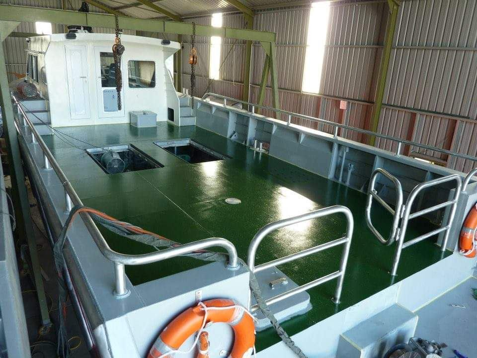 Work Boat for Private Company BOAT BUILDING & BOAT CHARTERING