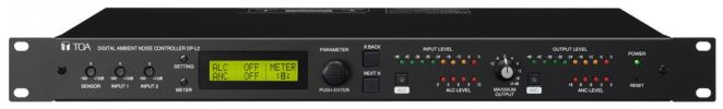 DP-L2. TOA Digital Ambient Noise Controller. #AIASIA Connect AUDIO SOURCE DEVICE TOA PA / SOUND SYSTEM