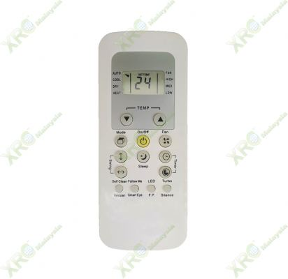 42KHA030FS CARRIER AIR CONDITIONING REMOTE CONTROL