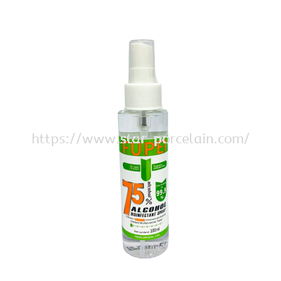 100ml 75% Alcohol Hand Sanitizer Spray