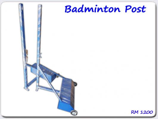 Badminton Post with Weight