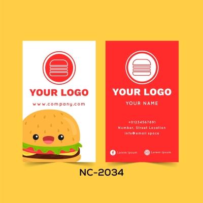 Restaurant Name Card - NC2034