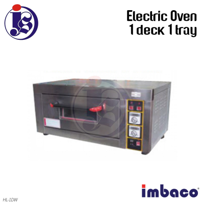 Imbaco 1 Deck 1 Tray Electric Oven  HL-1DW