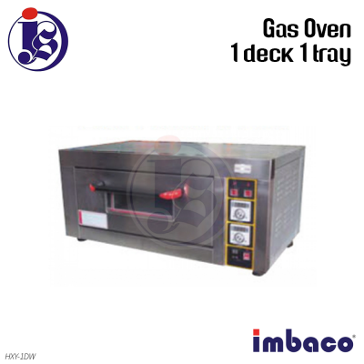 Imbaco Gas Oven 1 Deck 1 Tray HXY-1DW
