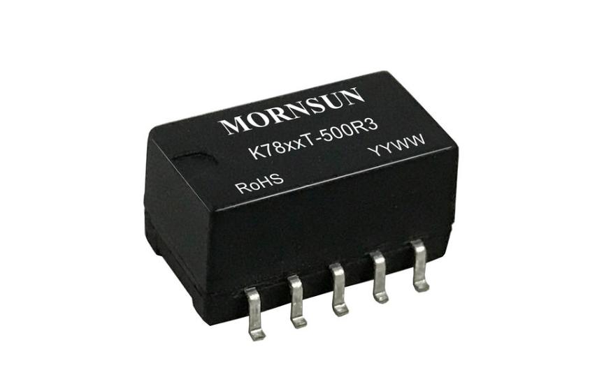 Mornsun SMD DC/DC converter module K78_T-500R3 Series
