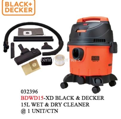 BLACK & DECKER 15L WET & DRY VACUUM CLEANER