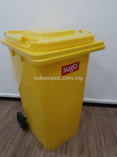2 Wheeled Container 240L