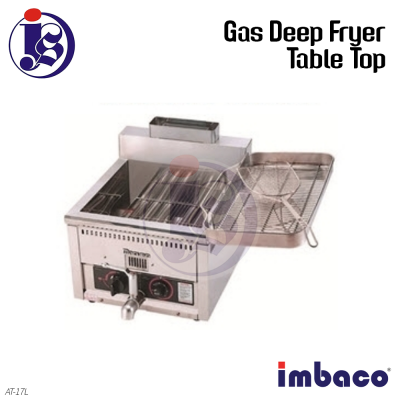 Imbaco 17L Table Top Gas Deep Fryer AT-17L