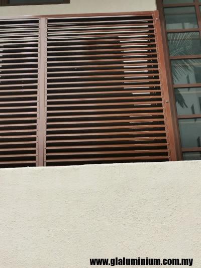 Aluminium Louver Door / WIndow / Shutter / Screen  Refer Design